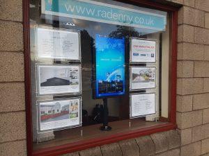 led and digital property display