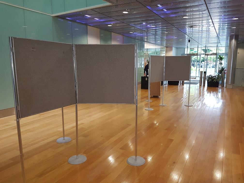 Poster Board Hire – CRUK Exhibition