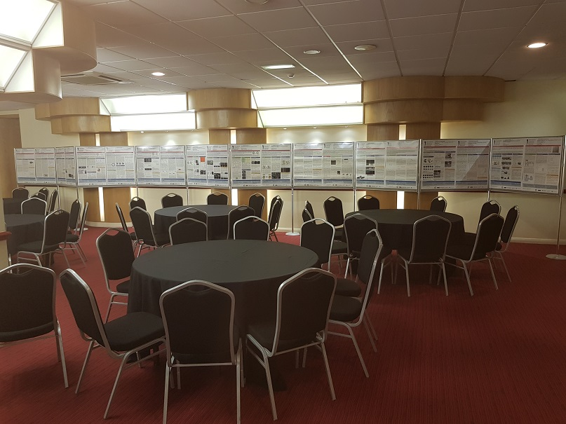 Poster Board Hire at Manchester Conference Centre for the University of Manchester/ BP