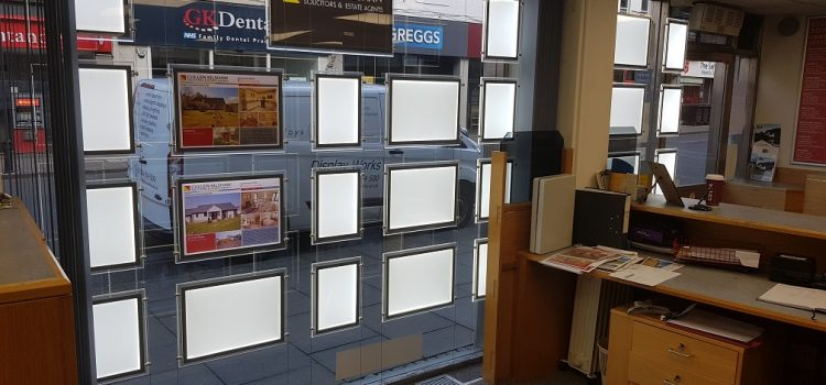 LED Window Display Hawick Cullen Kilshaw