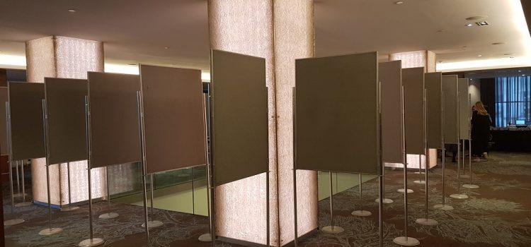 Poster Board Hire – Sheraton Hotel, Edinburgh