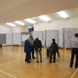 Poster Board Hire – Hire of Poster Board Panels for a Public Consultation in Edinburgh, November 2019